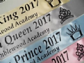 Personalised School Prom Queen / Prom King Sashes